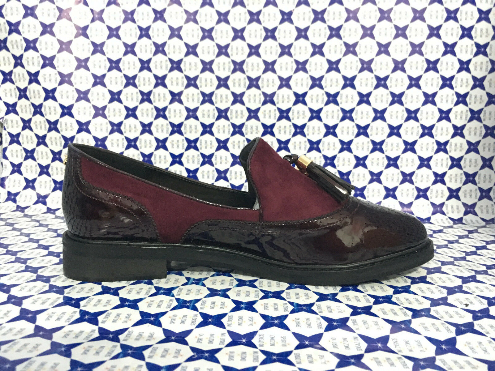 shoes Menbur women women women - Mocassino Coda di Rondine Nappine - Bordeaux - 7746 cb94f2