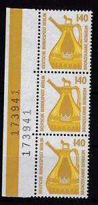 Berlin-1989-SWK-postfrisch-linker-Seitenrand-MiNr-832-Bronzekanne-Reinheim-4