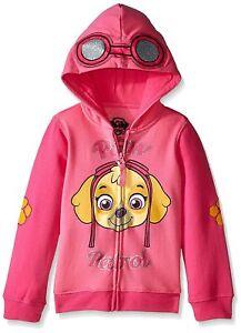 Paw Patrol Toddler Girls Skye Full Zip Hooded Sweatshirt  NWT Size  2T  Pink
