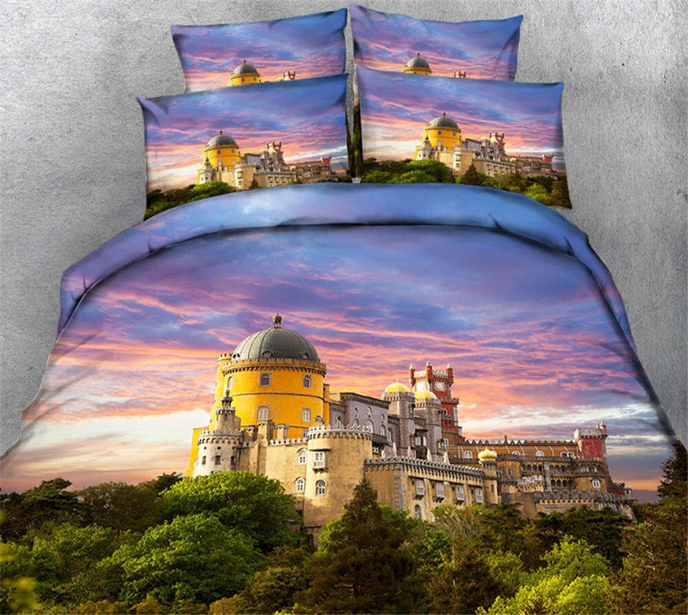 Charming Cucoloris 3D Printing Duvet Quilt Doona Covers Pillow Case Bedding Sets