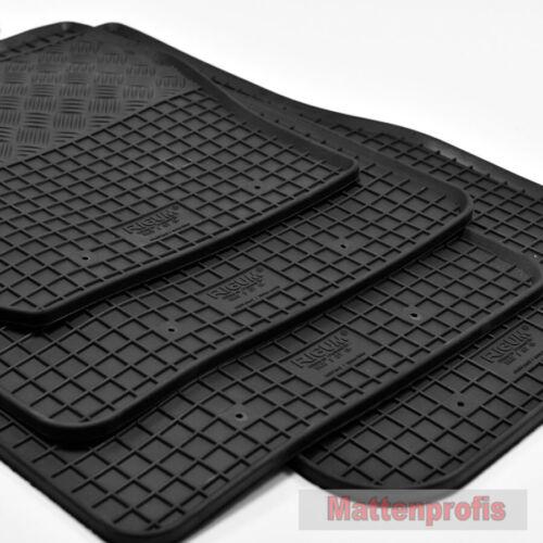 Esteras de goma goma tapices adecuado para bmw 3er GT f34 gran turismo año 03//2013