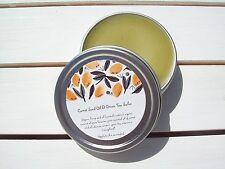 Carrot Seed Oil & Green Tea Salve Face Salve, Anti Aging, Skin Repair 1 oz Tin