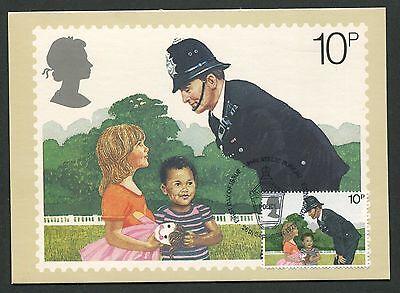 Gb Uk Mk 1979 Polizei Polizist Police Maximumkarte Maximum Card Mc Cm D5568 Lassen Sie Unsere Waren In Die Welt Gehen Maximumkarten Arbeitswelt-branchen