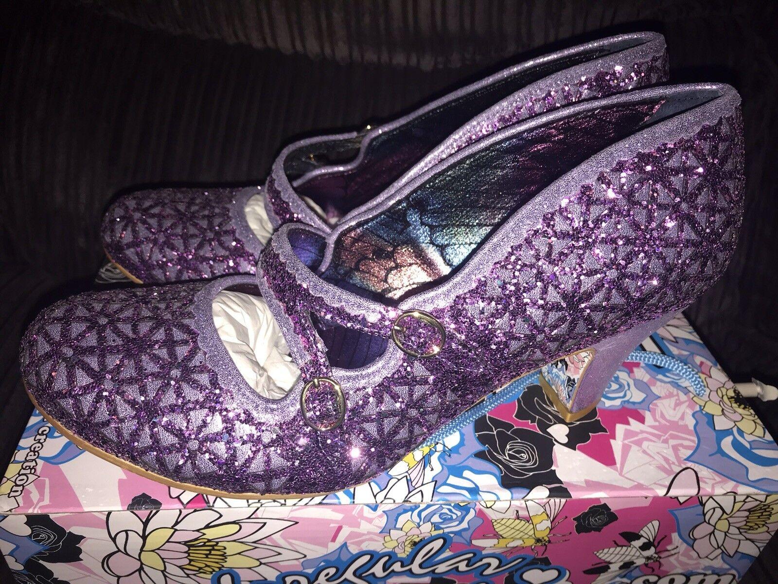 fornire un prodotto di qualità Irregular Choice Donna Dazzle Dazzle Dazzle Dance Mary Janes Glitter Viola 8.5 43  fino al 60% di sconto