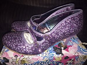 da 5 43 Janes Choice donna Dazzle Glitter Mary Dance Purple 8 Irregular TntBfPqP
