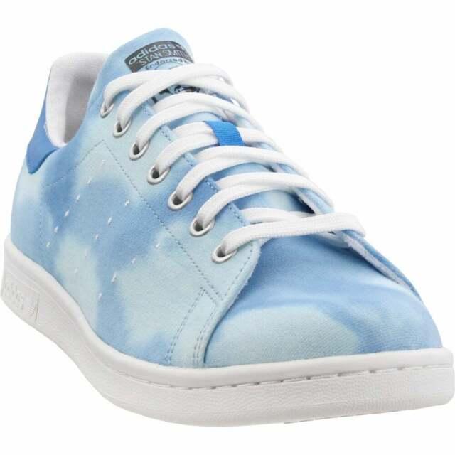 adidas Pharrell Williams Hu Holi Stan Smith Casual Sneakers Blue Mens
