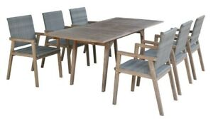 Better Home 7tlg Gartenmobel Set Milage Tisch Ausziehbar 2m 6