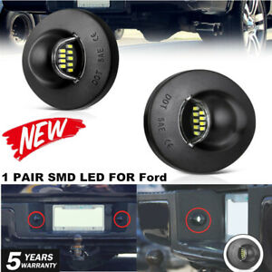1990-2014 Ford F-150 Pickup Truck BRIGHT SMD LED License Plate Light F250 F350