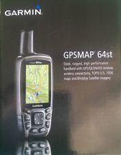 Garmin GPSMAP 64st TOPO US 100K Maps GPS/GLONASS Receiver - 010-01199-20