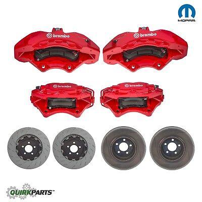 dodge charger scat pack brakes 2-2 CHALLENGER CHARGER 2 SRT-2 SCAT PACK BREMBO BRAKE UPGRADE KIT OEM  MOPAR  eBay