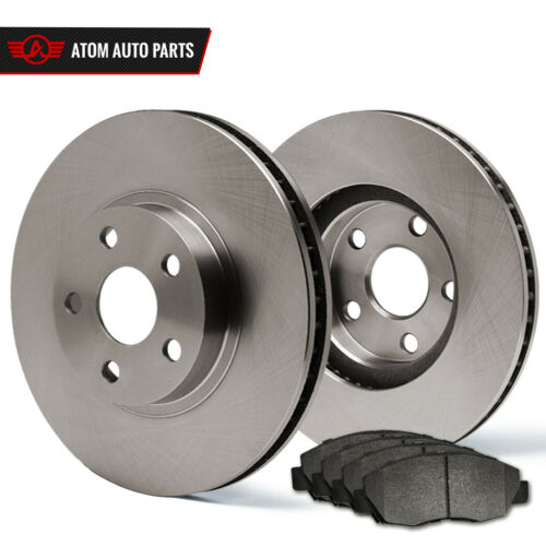 Rotors Metallic Pads F 2008 2009 2010 Fit Dodge Grand Caravan OE Replacement