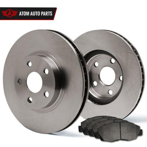 Rotors Metallic Pads F 2008 2009 2010 Fit Dodge Grand Caravan OE Replacement