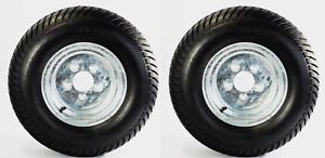 2-Pk-Trailer-Tire-Rim-20-5X8-10-205-65-10-20-5X8-0-10-5-Lug-E-Galvanized-Wheel