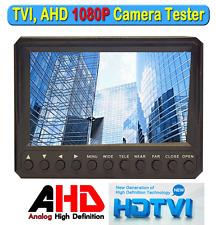 "Portable 4.3"" LTPS 1080P CCTV Tester TVI AHD Analog (CVBS) Monitor 12v Output"