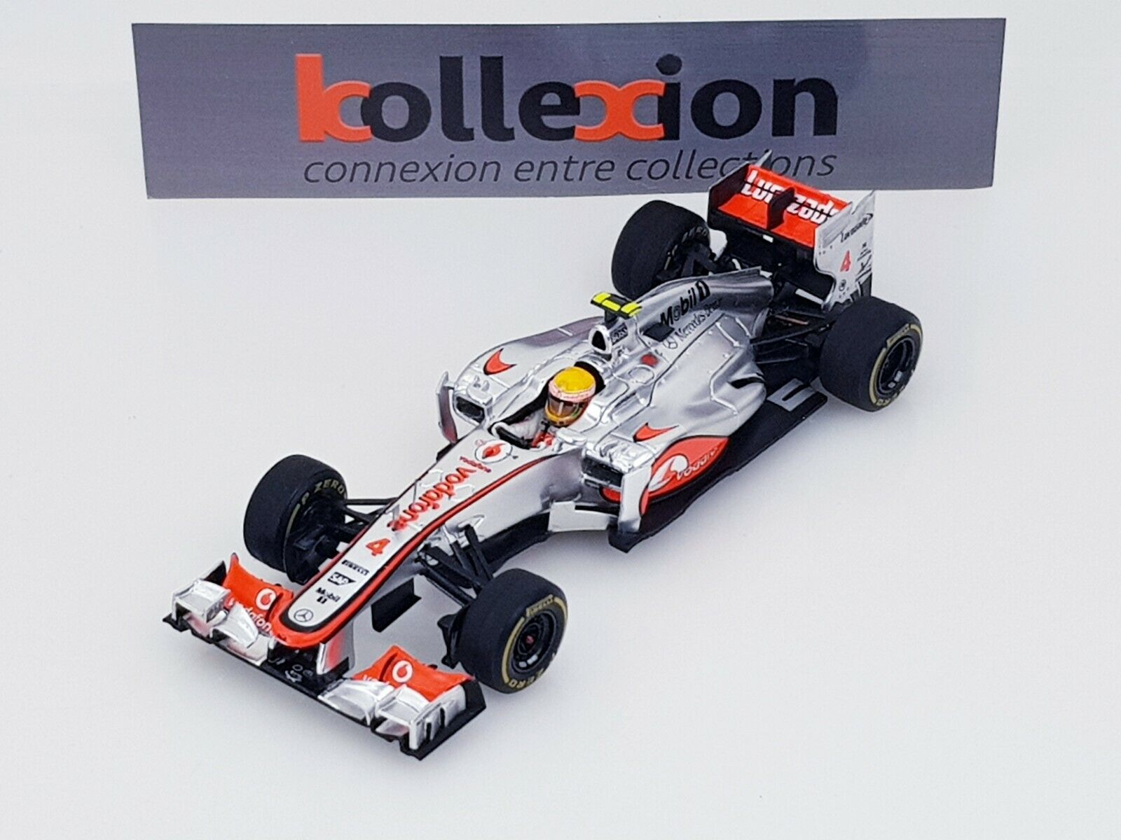 S3045 spark vodafone mclaren mercedes mp4-27 no. 4 monaco gp 2012 hamilton 1.43 nb