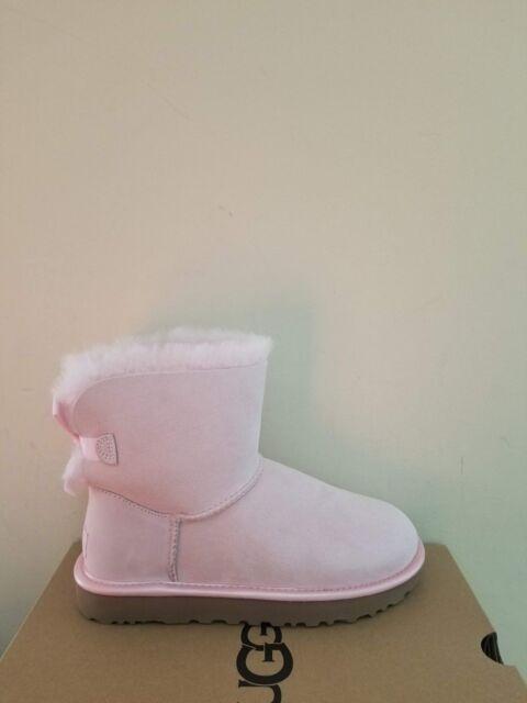 bfc232ecbd2 Ugg Australia Women's Mini Bailey Bow II Metallic Boots Size 9 NIB