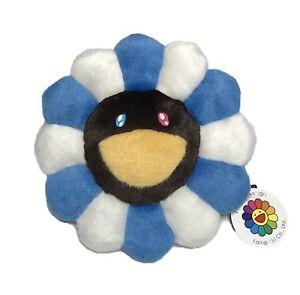 Takashi Murakami Flower Pillow Bluewhite Plush Cushion 30cm 12rare