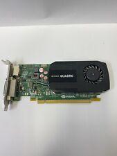 HP NVIDIA QUADRO K600 1GB DDR3 DP DVI-I PCI-E GRAPHICS VIDEO CARD 700102-001