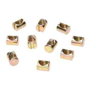 10-Piezas-M8-Tornillos-barril-Cross-Dowel-Tuerca-muebles-ranurada-para-camasW6O4