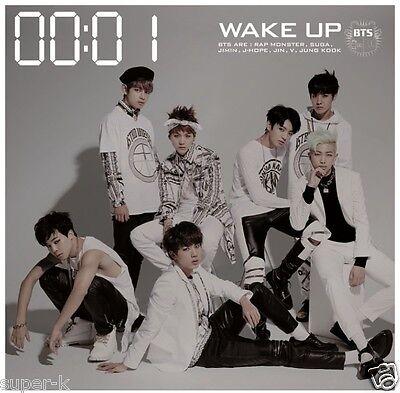 BTS (Bangtan Boys) Japan First Full Album [WAKE UP] TYPE B (CD + DVD) Limited