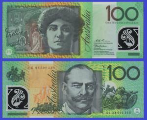 Reproduction Australia 100 dollar 1996  UNC