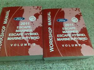 2011-Ford-Escape-Mercury-Mariner-amp-Hibrido-Servicio-Tienda-Reparar-Manual-Set