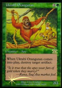 Details about MTG ARENA FOIL 6th ED UKTABI ORANGUTAN X2 PROMO CARD MINT NOT  PLAYED FREE SHIP