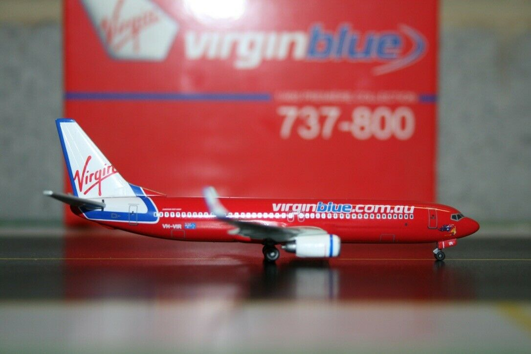 Dragon Wings 1  400 Virgin bleu Boeing 737-800 VH-VIR (56180) Model Plane  beaucoup de surprises