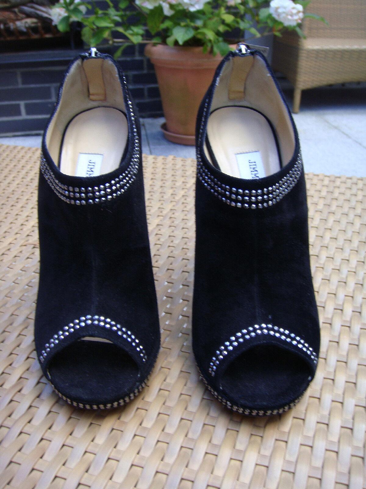 JIMMY CHOO Schuhe Gr.40,5 Gr.40,5 Gr.40,5 Schwarz ff9ab8