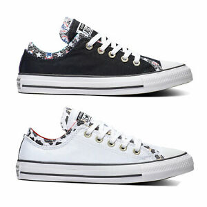 Converse les CHUCKS OX LOW double upper Chuck Taylor All Star Sneaker Femmes-Chaussures