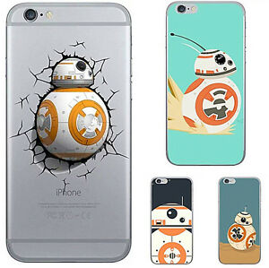 Awesome-Star-Wars-BB-8-Robot-TPU-Soft-Back-Phone-Case-For-iPhone-7-5-6-6s-Plus