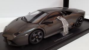 bilkonst 18 Lamborghini revnton grå