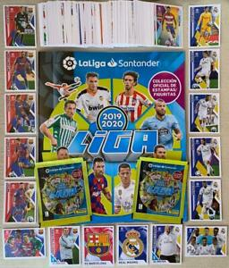 2019-20-Panini-Spain-La-Liga-Santander-set-complete-album-2-packets-American
