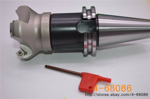 KM12 50-22-4F indexable face milling cutter CAT40 FMB22-60