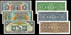 COPY-RARE-PANAMA-1-5-10-BALBOA-1941-BANKNOTES-NOT-REAL