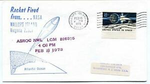 1973 Wallops Island Rocket Fired Asroc Nwl Lgm B16375 Wff Goddard Base Nasa Nombreux Dans La VariéTé