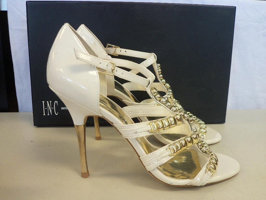 INC International Concepts NEU Damenschuhe Lorna WEISS Bone Heels 10 M Schuhes