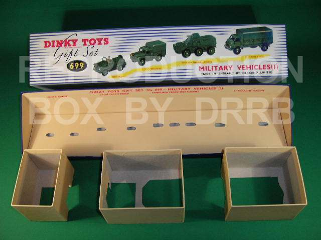 Dinky Military Vehicles 1 Gift Set - Reproduction Box by by by DRRB e41036