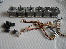 5 Stepper motors NEMA 17-48 oz//in CNC ROUTER  ROBOT REPRAP MAKERBOT Prusa 1016B