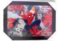 New:marvel Spider-man 3d Wall Art 22 X 30 Framed Picture Lenticular Hologram