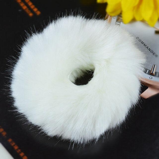 Imitate Rabbit Fur Hair Band Hair Bobble Hair Accessories Fluffy Mixed