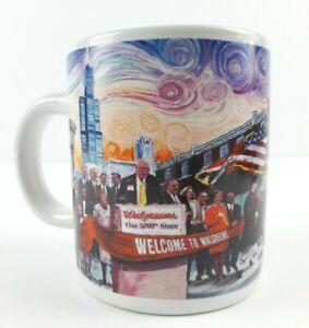 Vincent Van Gogh Starry Night Walgreens 3000th Store Chicago Vintage Coffee Mug Ebay