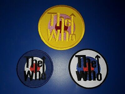 SET OF 3 RAMONES PATCHES SEW ON //IRON ON PUNK ROCK MUSIC FESTIVALS