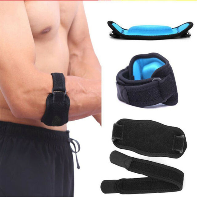 Adjustable Tennis Golf Elbow Support Brace Strap Band Forearm Protection #3