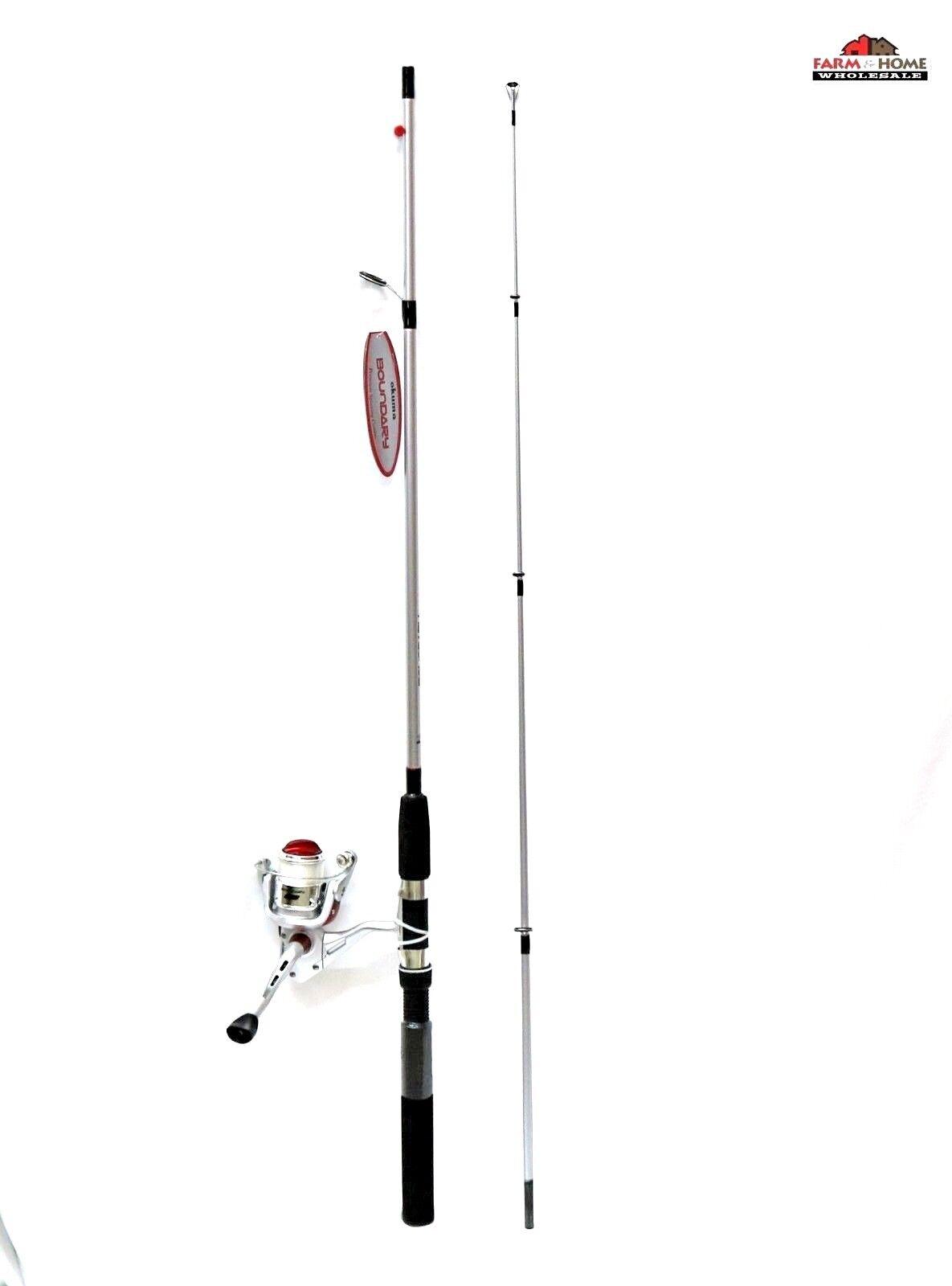 6' Okuma Boundary Rod & Spinning Reel Combo   New  free shipping