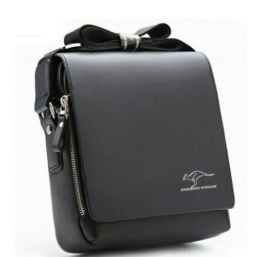 Men Bag Leather Travel Organiser Utility Man Bag Shoulder Cross Body Messenger