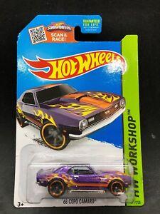 Hot wheels 2015 '68 COPO Chevy Camaro Purple Heat Fleet ...