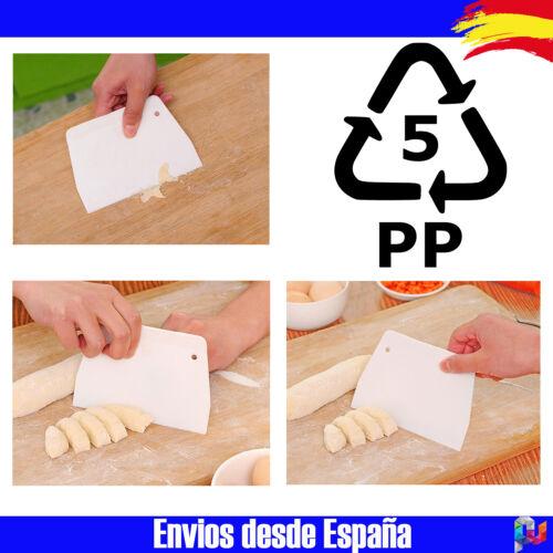 PP Espatula para cortar masa rascador cocina cortador mantequilla pan pasteles
