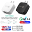 thumbnail 1 - Quick Charge 3 18W Fast QC 3.0 USB Charger USA Adapter For iPhone Android TikTok