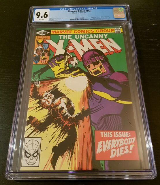 X-MEN #142 (1981 MARVEL) CGC 9.6 W.P. *DAYS OF FUTURE PAST PART 2*